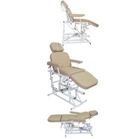 Кресло пациента №11  (c одним электроприводом) (ЛОР, офтальмология, косметология)
